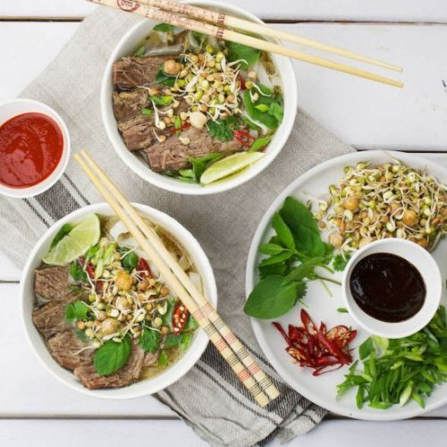 Pho Bo- The classic Vietnamese soup