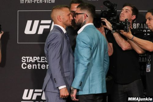 UFC 227 media day face-offs: T.J. Dillashaw, Cody Garbrandt keep it cool