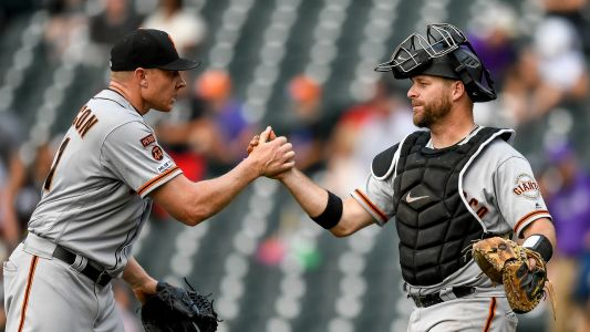 MLB wrap: Giants throw wrench into trade deadline with sweep of Rockies