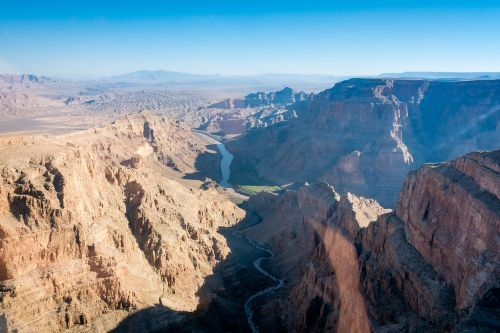 Flying Over The Grand Canyon In A Helicopter From Vegas