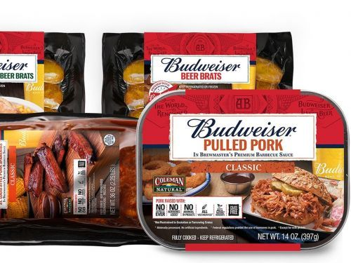 Budweiser-Infused 'Natural' Pork Is Heading to Your Meat Aisle