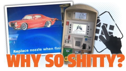 The Incredible Mystery Of Why Gas Pump Interface Design Sucks So Badly