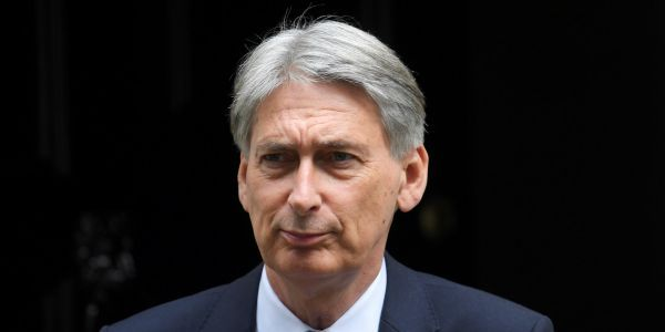 Philip Hammond slaps down Boris Johnson's demand for £100 million a week for the NHS