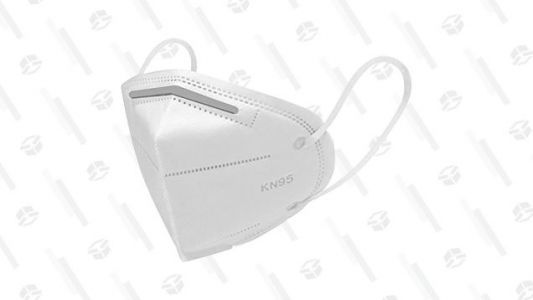 COVID-19 Is Still a Thing, So Grab Five KN95 Masks For $15