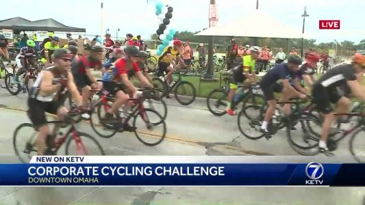 Corporate Cycling Challenge pedals for charity