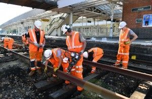 Sidings Enhancements At Hove To Support Thameslink Network