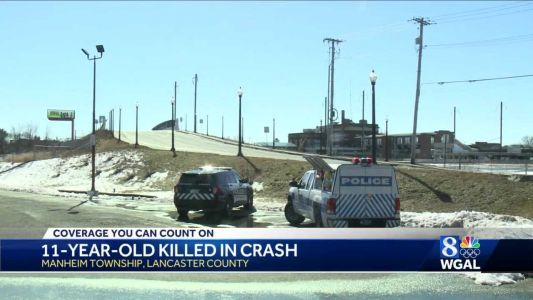 11-year-old dies after crash in Lancaster County