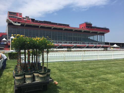 Portion of Pimlico grandstand to close for Preakness