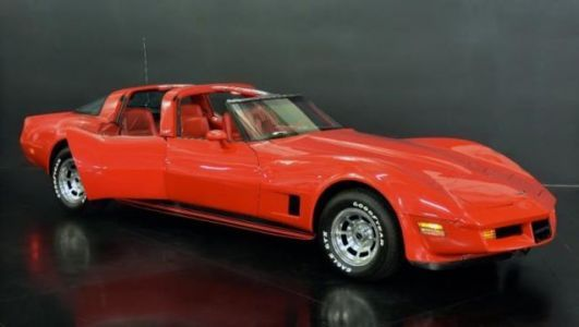 You Can Buy the 1980 Corvette Sedan of Your Dreams for a Mere $217,000