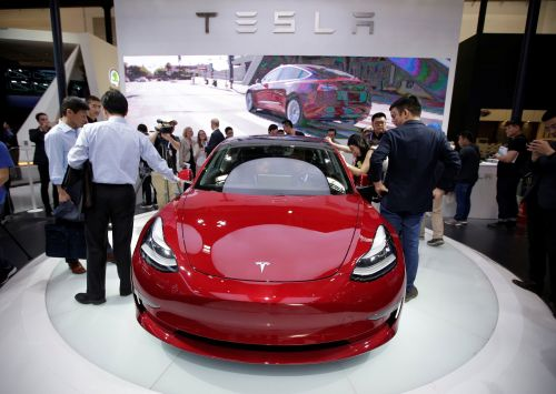 Thousands of Tesla Model 3 cars are sitting in giant parking lots in California - here's why