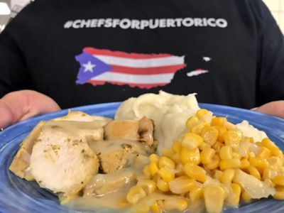 José Andrés and Team Will Serve 40,000 Thanksgiving Meals in Puerto Rico