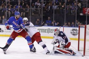 Blue Jackets extend streak to 9 with 5-3 win over Rangers