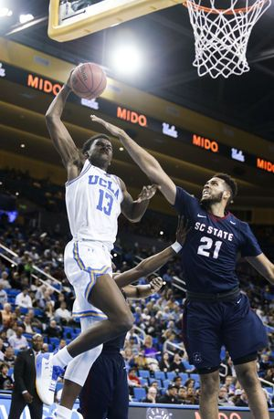 No. 23 UCLA routs South Carolina State 96-68 behind 3 frosh