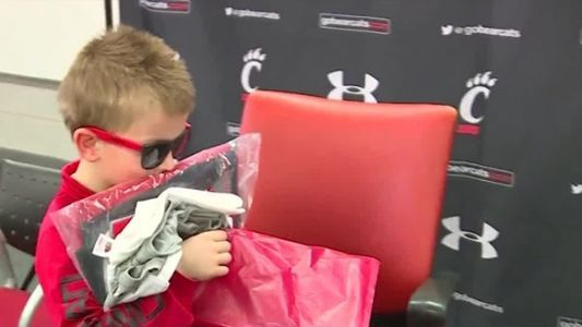 UC's soccer team signs 7-year-old boy