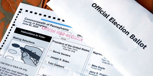Pennsylvania's election is in uncharted territory with a new rule that rejects 'naked' ballots