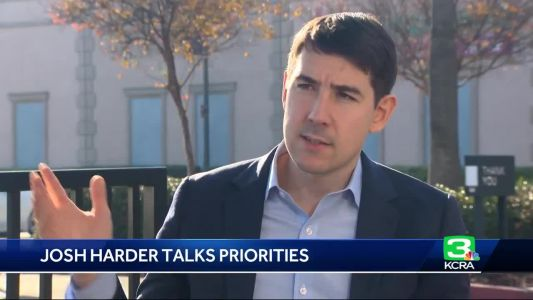Josh Harder talks about his priorities for office