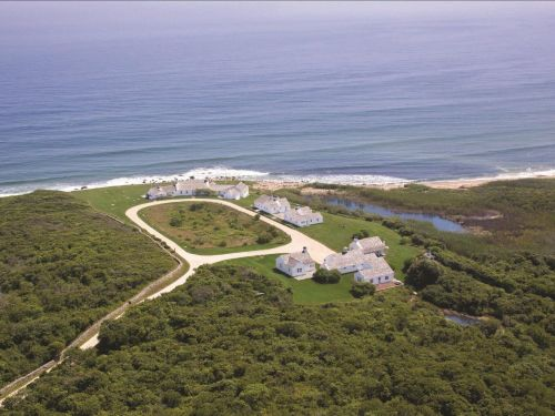 The billionaire art collector who owns Andy Warhol's former Montauk estate is reportedly entertaining offers for the oceanfront property. Here's a look inside