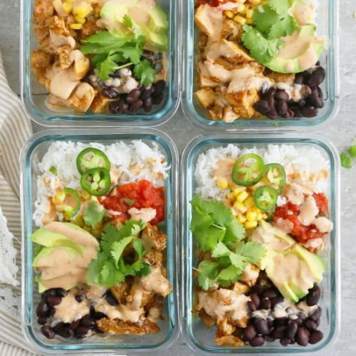Spicy Chipotle Chicken Burrito Bowl