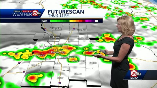 Hail, strong winds possible in overnight storms