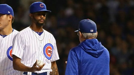 MLB Postseason 2018: Carl Edwards off Cubs' roster for NL wild-card game as Pedro Strop returns