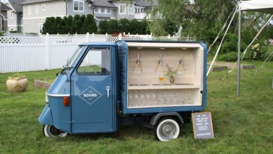 Which One of You is Going to Build Me a Prosecco-PouringPiaggio Ape to Take to Races
