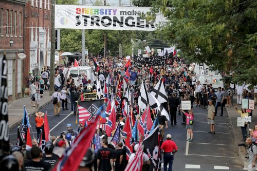 These white supremacist groups are making millions registered as tax-exempt charities