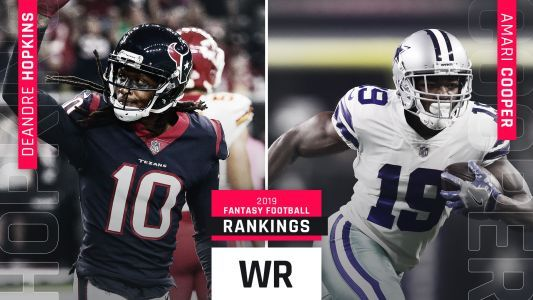 2019 Fantasy Football WR Rankings
