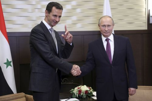 Russia keeps saying the West is planning chemical attacks in Syria - and it's a sign Assad may be about to use them again