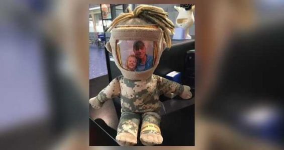 Owner of lost military doll identified after viral Facebook post