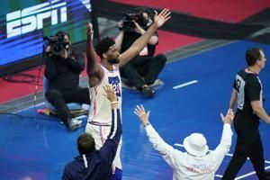 Embiid, 76ers snap Clippers' 7-game winning streak