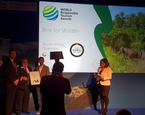 World Animal Protection secured gold at WTM World Responsible Tourism Awards