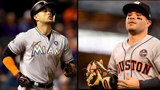 MLB awards 2017: Jose Altuve, Giancarlo Stanton named MVPs