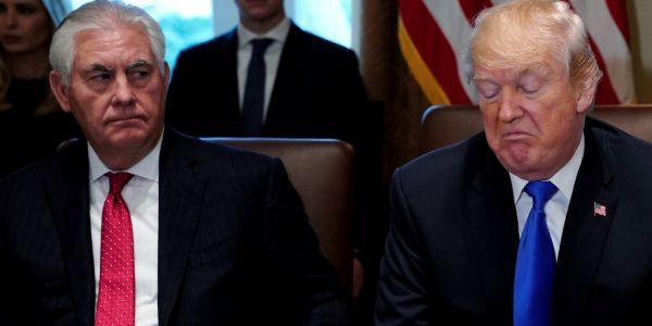 Trump may have fired Rex Tillerson because they couldn't agree on North Korea
