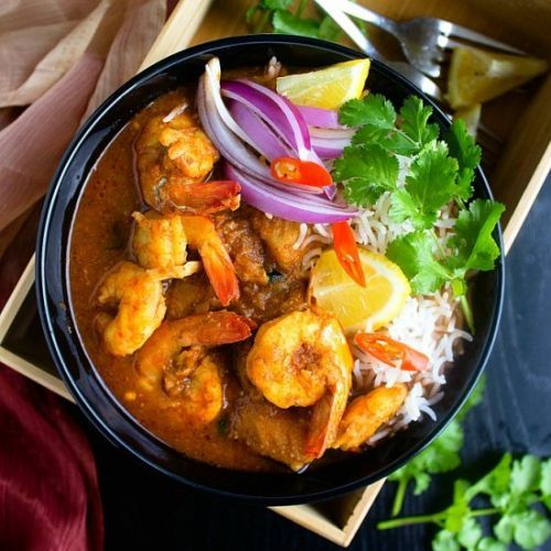 Easy Indian Seafood Curry
