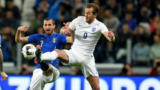 Kane eager to reunite with 'amazing' Chiellini in Champions League clash