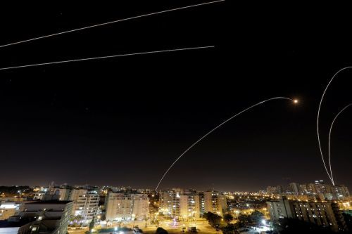 The rocket battle between Israel and Hamas is risking a major war - here's what the fighting looks like