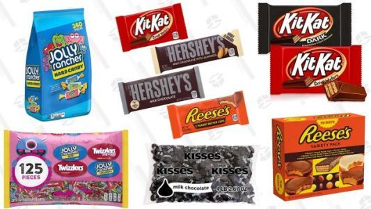 Amazon Scared Up Some Great One-Day Deals On Halloween Candy