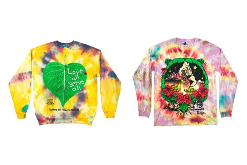 Online Ceramics Drops Tie-Dye Goodies for Winter 2018 Collection