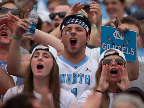 UNC used an insane slide to defend fake classes for athletes