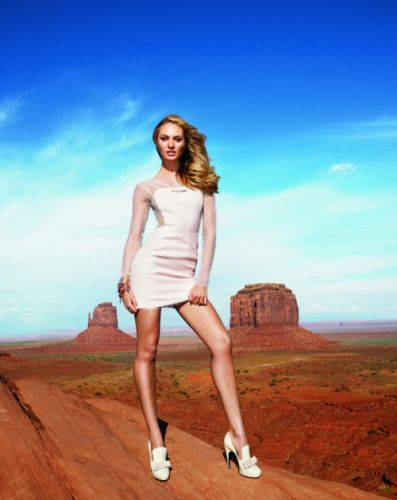 Candice Swanepoel Reveals Her Beauty Secrets The globe-trotting