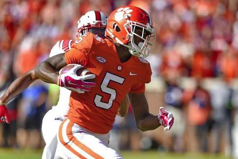 No. 3 Clemson tops No. 16 North Carolina St 41-7