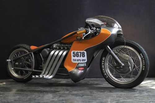 "Check out This Nimbus Type C ""Odin's Fury"" Gonzo Motorcycles Custom"