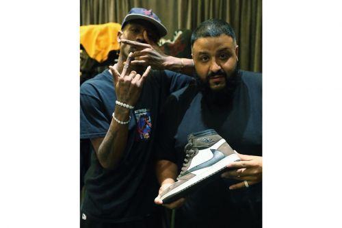 "Travis Scott & DJ Khaled Tease the Air Jordan 1 ""Cactus Jack"""