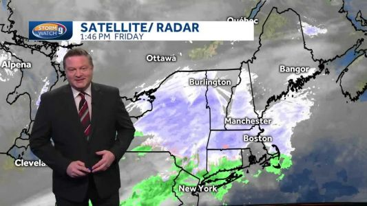 Watch: Cold start to weekend