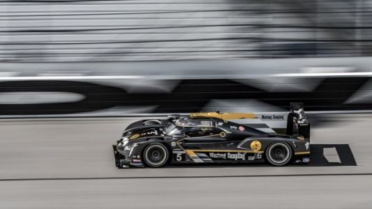 Last Year's Daytona-Winning Cadillac DPi Sidelined Early in the Race With Electrical Issues