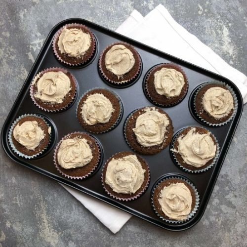 Nate's Tasty Coffee Cupcakes