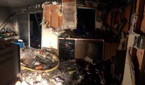 Residents escape injury in Franklin County house fire