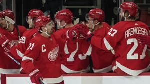 NHL suspends Red Wings C Dylan Larkin 1 game for punch