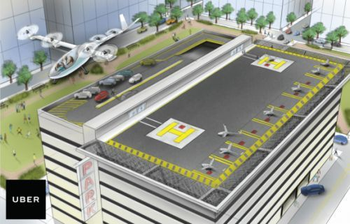 Uber and NASA team up for flying taxi project