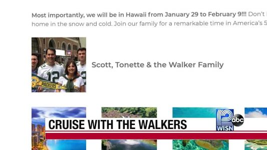 Scott Walker to host Hawaiian cruise
